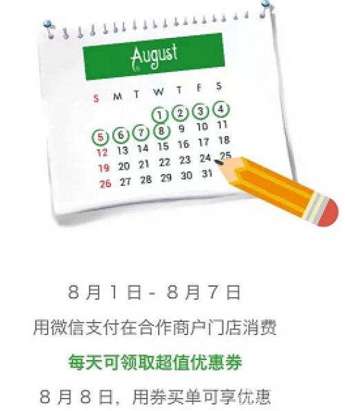 8月起,10家银行信用卡微信支付有积分